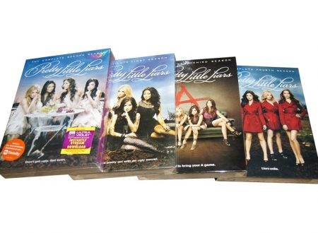 Arrivano i DVD di Pretty Little Liars in ITALIA